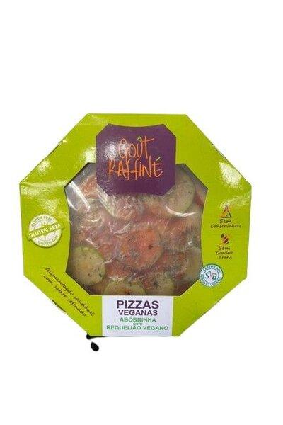 Pizza abobrinha com requeijão vegano - gout raffine - 320g