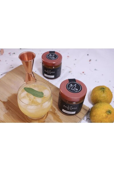 Geleia para Gin - Caju com Bergamota Frutteto - 250g