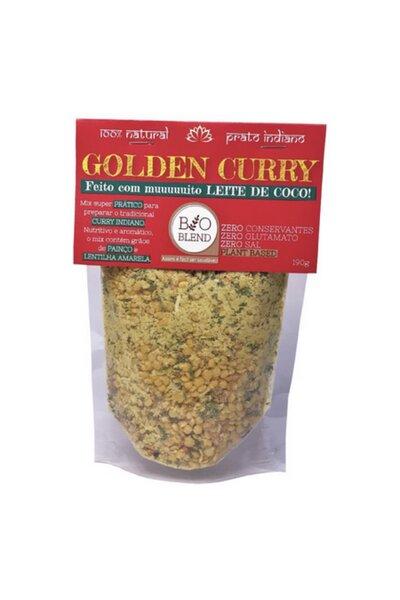 Sopa Indiana Golden Curry (Lentilha Amarela e leite de coco) Bio Blend - 190g