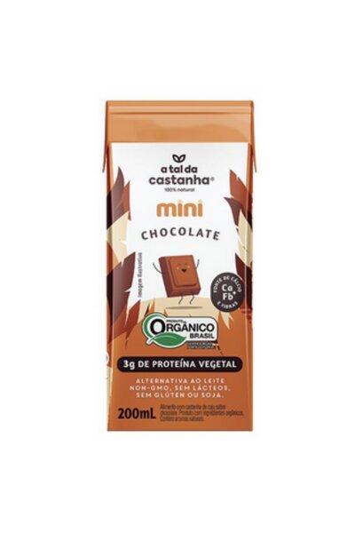 Mini chocolate a tal da castanha - 200ml
