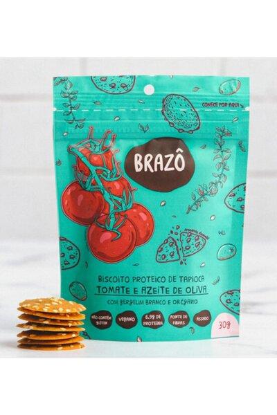 Snack Proteico Tomate e Azeite Brazô - 30g