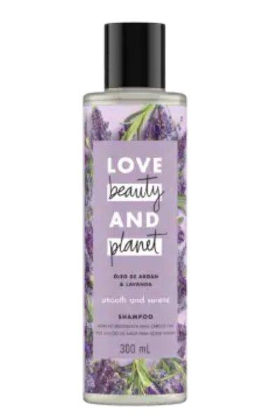 Shampoo óleo de argan & lavanda - 300ml Cabelos com frizz