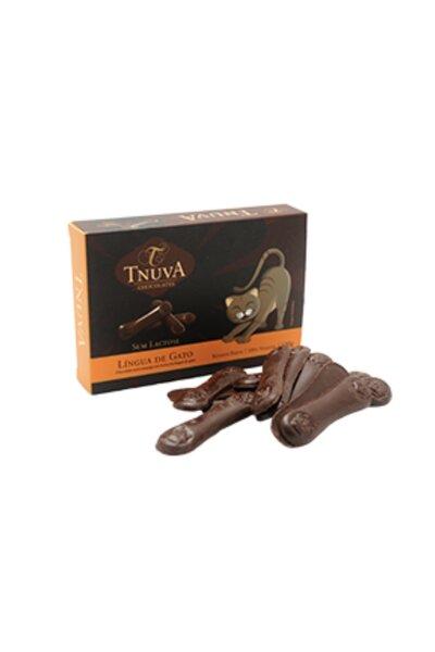 Chocolate Vegano Lingua de Gato Tnuva - 100g