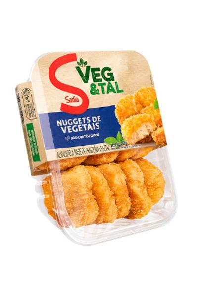 Nuggets de vegetais sadia veg&tal - 200g