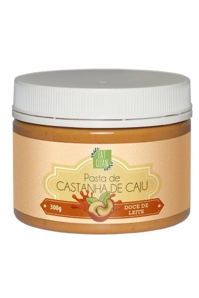 Pasta castanha de caju doce de leite eat clean - 300g
