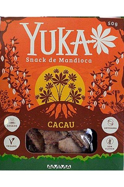 Snack de mandioca e cacau Yuka - 50g
