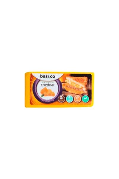 Queijo cheddar vegetal básico - 300g