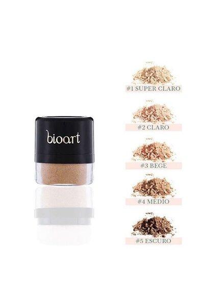 Pó facial Vegano bionutritivo #3 bege bioart - 4g