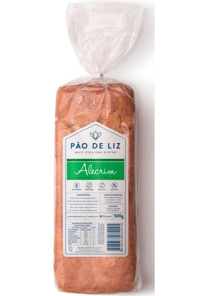 Pão sem glúten - alecrim pão de liz - 500g