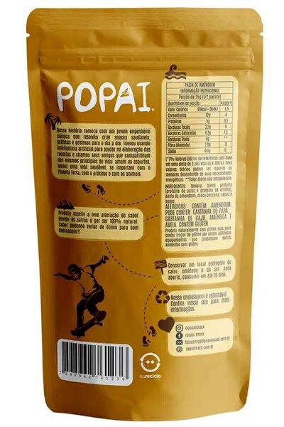 Snack Vegan Protein sabor Pasta de Amendoim Popai - 50g *10g de proteína