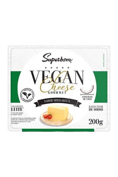 Queijo Mussarela Gourmet Vegano Superbom - 200g